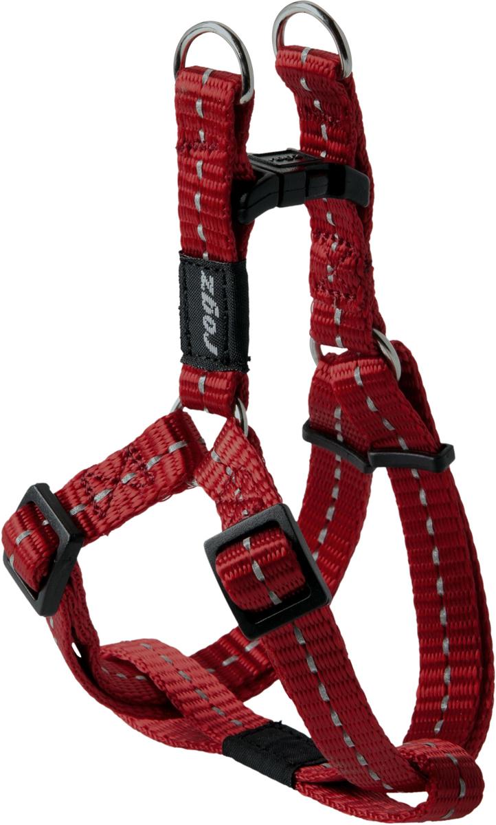 Шлейка разъемная для собак Rogz  Utility , цвет: красный, ширина 1,1 см. Размер S - Товары для прогулки и дрессировки (амуниция)
