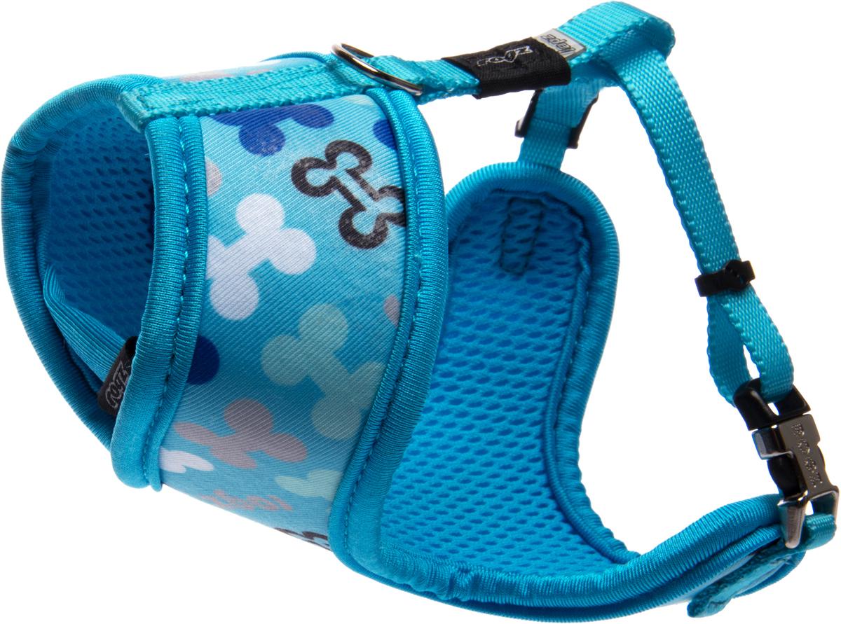 Шлейка-манишка для собак Rogz Trendy, цвет: голубой. Размер XSWR520BШлейка-манишка для собак Rogz Trendy - мягкость для шеи, удобство и комфорт.Сохраняет шерстку в идеальном состоянии.Широкие элементы изделия позволят равномерно распределить нагрузку на шлейку при рывках, обеспечивая, тем самым, здоровье любимцу и целостность изделию.Шлейка полностью отражает свет.