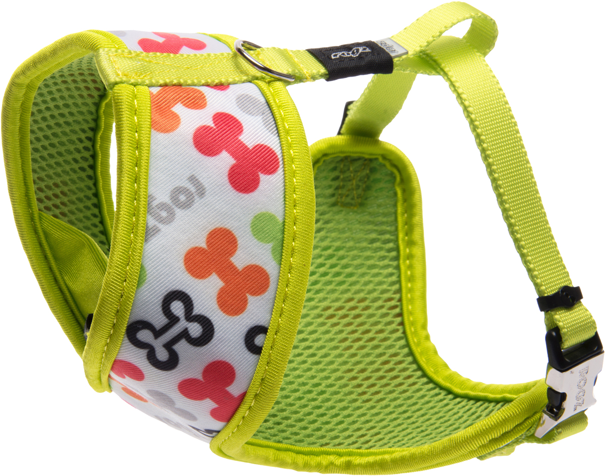 Шлейка-манишка для собак Rogz Trendy, цвет: салатовый. Размер XS0120710Шлейка-манишка для собак Rogz Trendy - мягкость для шеи, удобство и комфорт.Сохраняет шерстку в идеальном состоянии.Широкие элементы изделия позволят равномерно распределить нагрузку на шлейку при рывках, обеспечивая, тем самым, здоровье любимцу и целостность изделию.Шлейка полностью отражает свет.