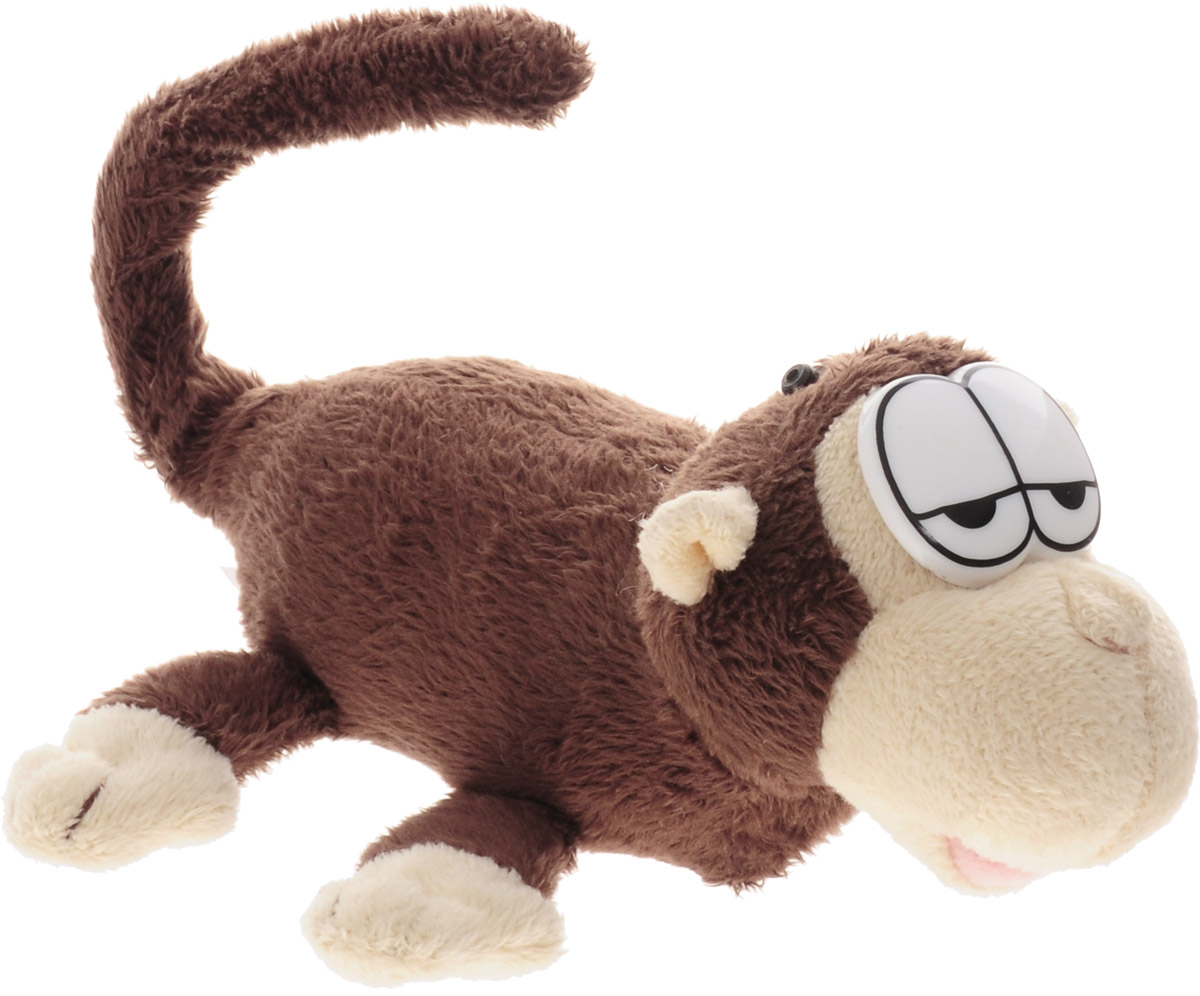 Chericole Интерактивная плюшевая игрушка Мини обезьянка chericole интерактивная мягкая игрушка обезьянка цвет фиолетовый