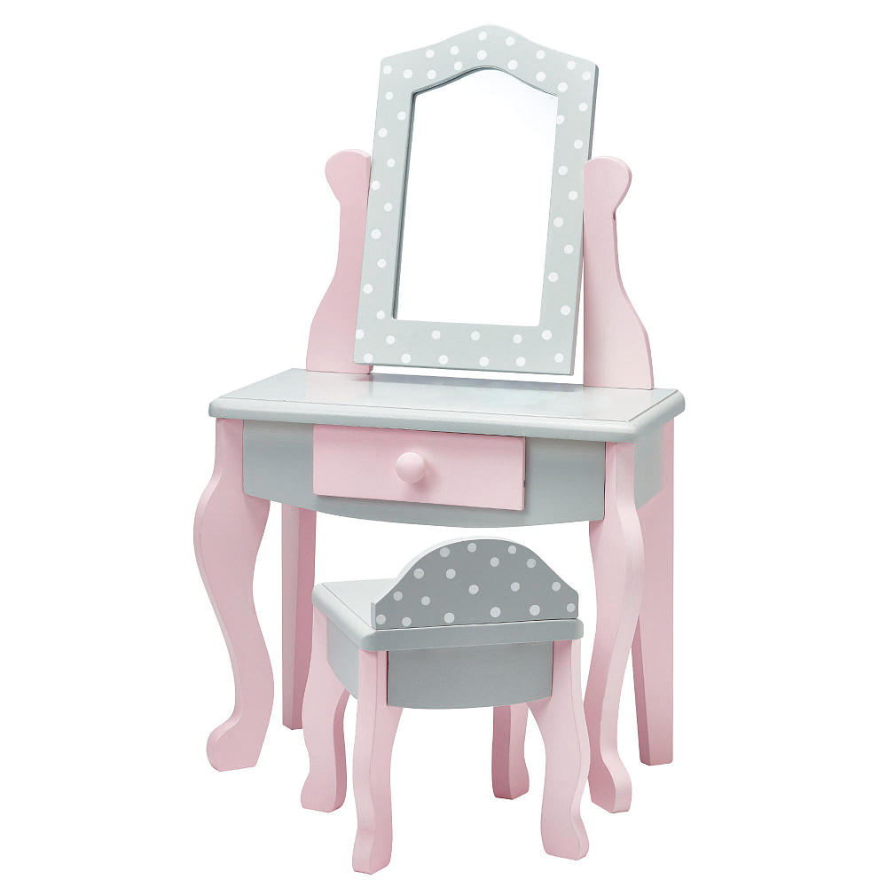 Kids4kids Мебель для кукол Туалетный столик и стульчик Мир Принцесс туалетный столик аскона