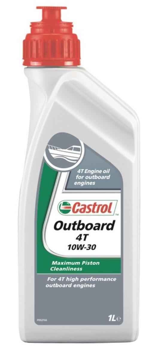 Моторное масло Castrol Outboard 4T, полусинтетическое, 1 лS03301004Castrol Outboard 4T — высокоэффективное моторное масло. Частично синтетическая композиция продукта обеспечивает высочайший уровень защиты двигателя в широком диапазоне условий работы подвесных двигателей — как при движении с высокой скоростью, так и при длительных стоянках судна.