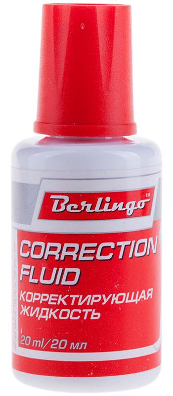 Berlingo Корректирующая жидкость с кистью 20 мл