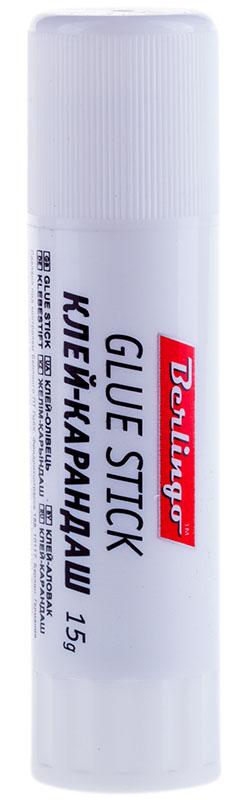 Berlingo Клей-карандаш улучшенная формула 15 гFS-00610Улучшенная формула. Склеивает изделия из бумаги, картона, ткани, фотографии. Экономичен в использовании. Не токсичен, не содержит растворителей. Надежный колпачок предохраняет от высыхания. Упаковка в мини-дисплей.