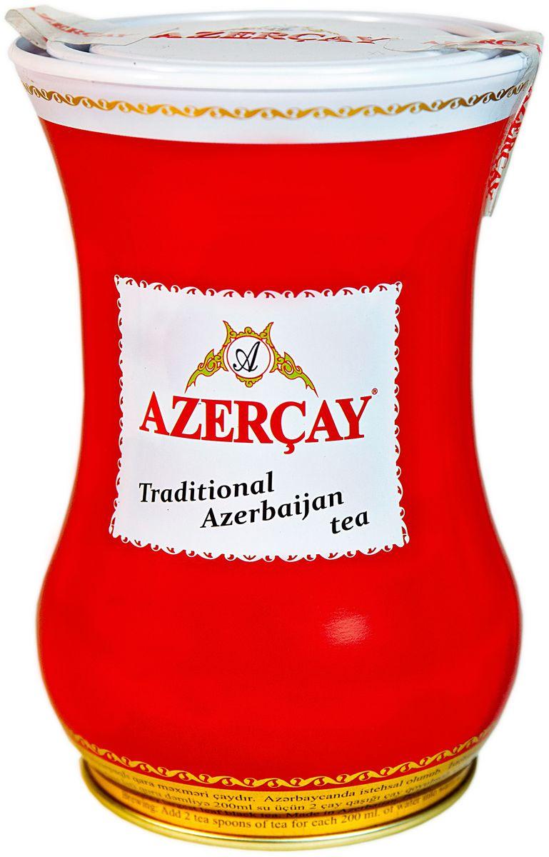 Azercay Armudu чай черный листовой, 100 г101246Крупнолистовой черный байховый чай высшего сорта. Смесь чаев из регионов Азербайджана Ленкоран и Астара. Способ приготовления: заварить из расчета 1 чайная ложка на чашку. Настаивать 5-6 минут.