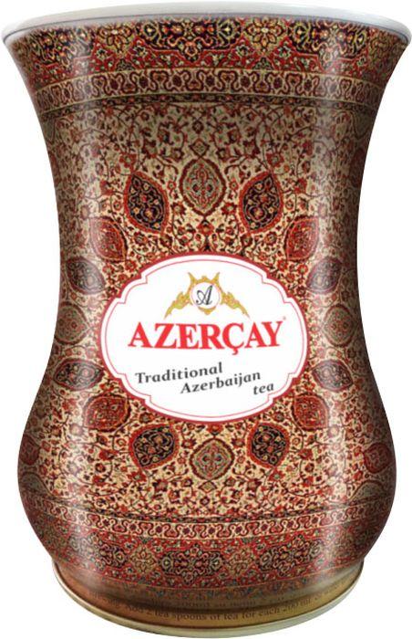 Azercay Armudu чай черный листовой, 100 г4760062103533Чай черный среднелистовой с чабрецом. Смесь дивных чаев, собранных на плантациях Ленкоранского и Астаринского регионов, расположенных на юге Азербайджана. Для его приготовления используются листья тимьяна, которые придают напитку своеобразный, ни с чем несравнимый пикантный аромат и вкус. Восхитительный напиток темно-красного цвета с тонким нежным и ненавязчиво душистым ароматом.Способ приготовления: заварить из расчета 1 чайная ложка на чашку. Настаивать 3-4 минуты.
