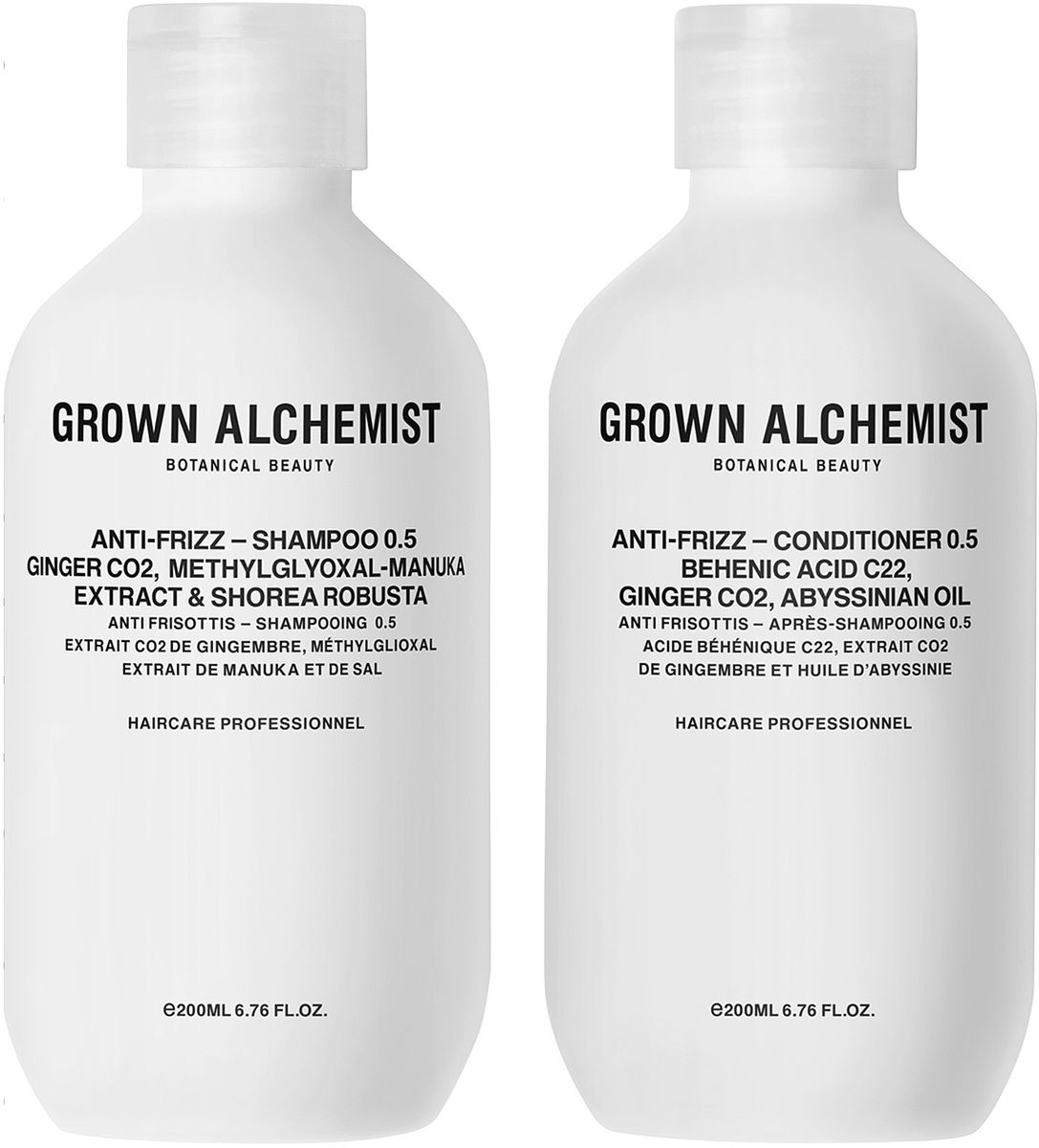 Grown Alchemist Набор для волос Разглаживающий: кондиционер, шампунь, 2 х 200 мл182451Набор для волос разглаживающий: разглаживающий шампунь 200 мл, разглаживающий кондиционер 200 мл