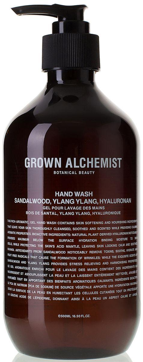 Grown Alchemist Жидкое мыло для рук Сандал и иланг-иланг, 500 млSatin Hair 7 BR730MNГель для мытья рук c роскошной текстурой и запахом содержит смягчающие и питающие кожу компоненты, эффективно очищает кожу придает ей успокаивающий аромат.