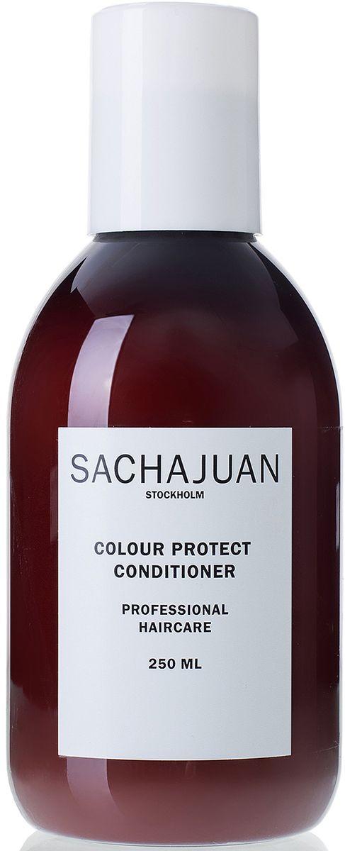 Sachajuan Кондиционер для окрашенных волос, 250 млFS-00897Кондиционер с технологией ocean silk и uv-защитой для окрашенных волос. Ухаживает за волосами, облегчает расчесывание, оставляя волосы мягкими, сильными, подвижными и блестящими. Для стойкости цвета используйте на волосах, окрашенных в схожий с натуральным цвет или в более темный тон. Кондиционер colour protect имеет длительную uv-защиту, защищающую волосы от солнца.