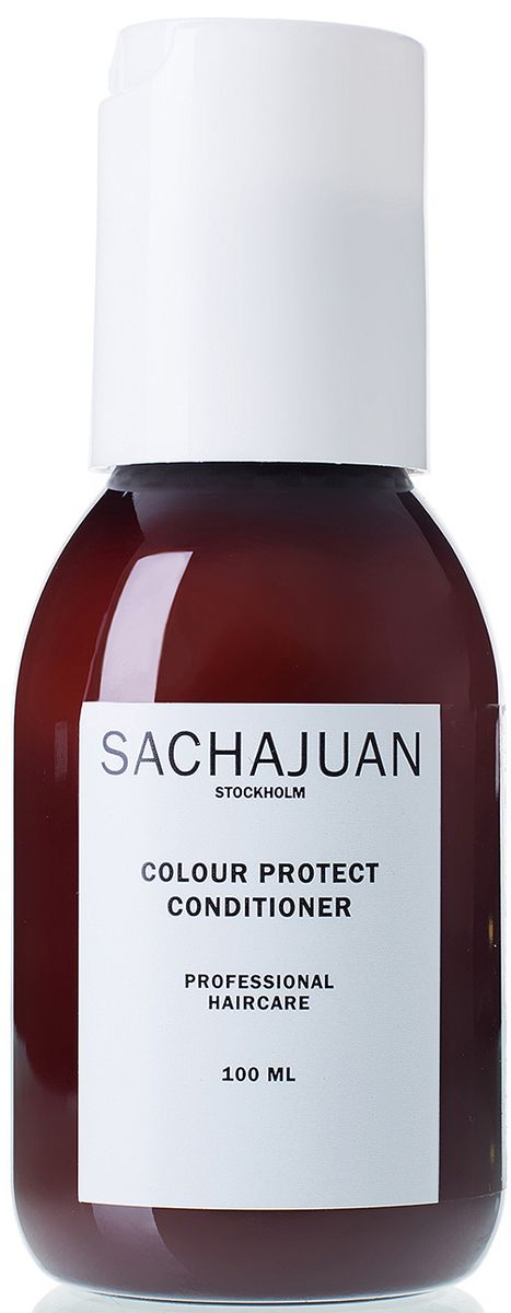 Sachajuan Кондиционер для окрашенных волос, 100 млMP59.4DКондиционер с технологией ocean silk и uv-защитой для окрашенных волос. Ухаживает за волосами, облегчает расчесывание, оставляя волосы мягкими, сильными, подвижными и блестящими. Для стойкости цвета используйте на волосах, окрашенных в схожий с натуральным цвет или в более темный тон. Кондиционер colour protect имеет длительную uv-защиту, защищающую волосы от солнца.