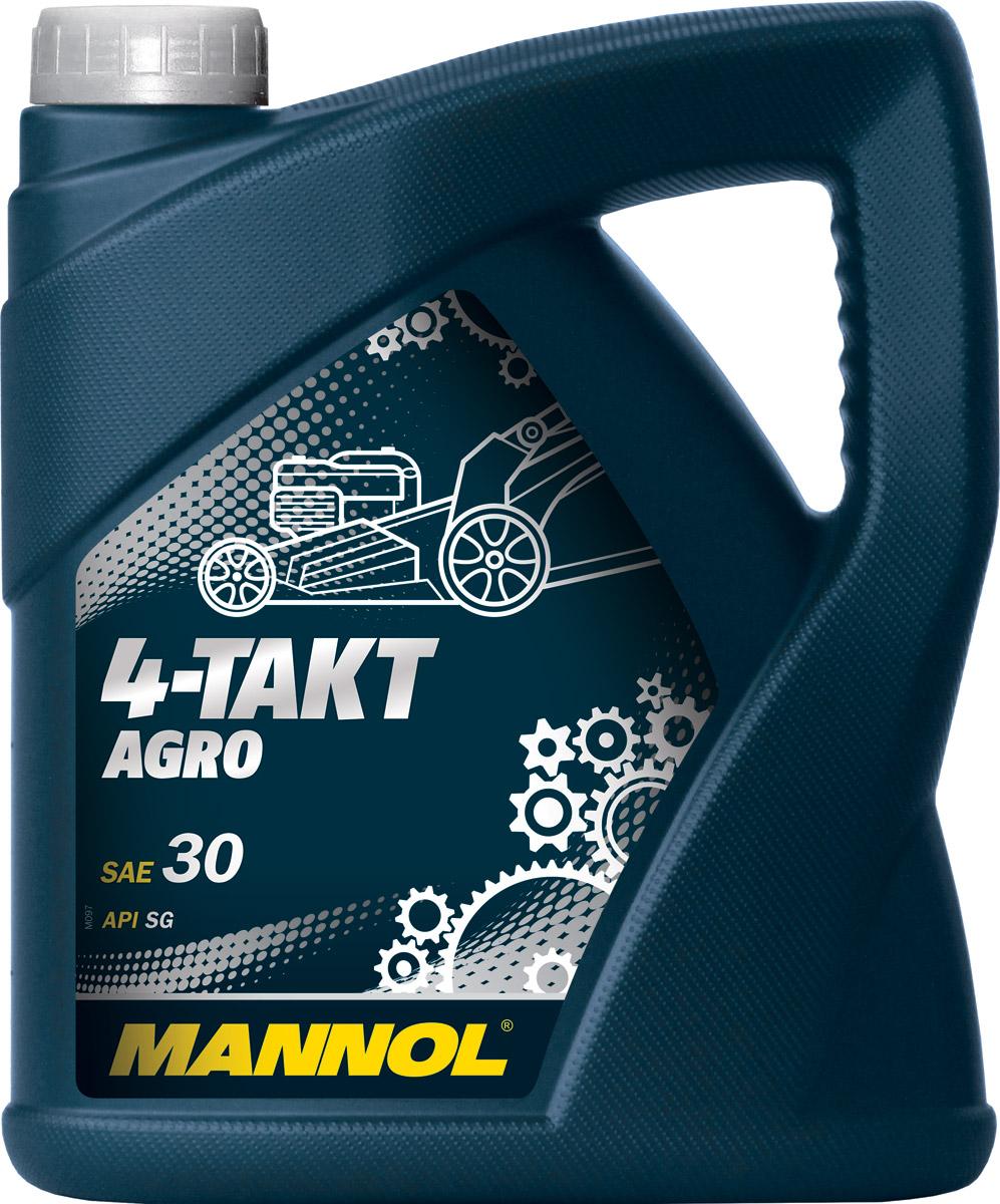 Масло моторное MANNOL 4-Takt Agro, API SG, минеральное, 4 л1106Моторное масло MANNOL 4-Takt Agro – высококачественное моторное масло для 4-тактных двигателей минитракторов, газонокосилок, генераторов, культиваторов, мотопомп и другого садового оборудования с воздушным и жидкостным охлаждением. Специальный пакет присадок обеспечивает высокие смазывающие, противоизносные и моющее-диспергирующие свойства, благодаря чему значительно увеличивается моторесурс сельскохозяйственных агрегатов. Совместимо со всеми типами топлива: этилированный и неэтилированный бензин, дизельное топливо. Интервалы замены моторного масла соблюдать в соответствии с предписаниями производителей агрооборудования.Класс качества по API: SG.Вязкость при 100°C: 11,4 CSt.Вязкость при 40°C: 101,98 CSt.Индекс вязкости: 98.Плотность при 15°C: 888 kg/m3.Температура вспышки COC: 220 °C.Температура застывания: -25 °C.Товар сертифицирован.