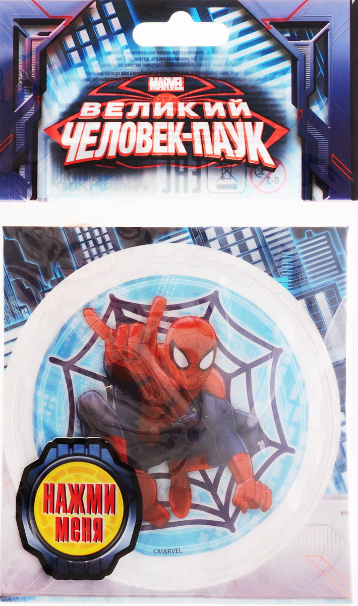 Веселая затея Значок Человек-Паук