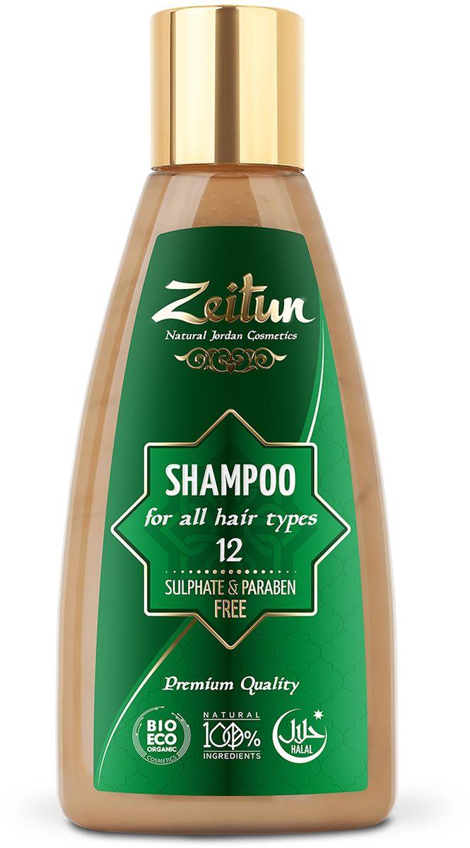 Зейтун Шампунь №12 для всех типов волос, 150 мл086-33984 NEWНатуральный шампунь для ухода за всеми типами волос. Основа шампуня на базе масла конопли делает его универсальным средством для волос: хорошо очищает волосы и кожу головы, питает волосяные луковицы, благодаря чему укрепляет и оздоравливает волосы.