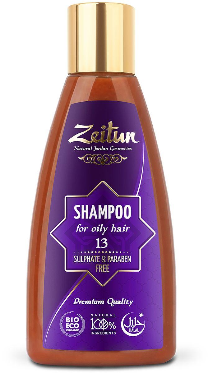 Зейтун Шампунь №13 для жирных волос, 150 млFS-00897Натуральный шампунь для жирных волос с содержанием глины Байлун, благодаря которой регулируется секреция сальных желез, что нормализует жирность волос. Натуральный шампунь хорошо очищает кожу головы и волосы, благодаря дополнительным маслам и экстрактам в составе питает волосы, оздоравливает их, насыщая необходимыми микроэлементами.
