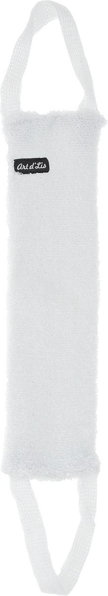 Мочалка Art dLis Букле. Серебро, с ручками, цвет: белыйЯ286Вязаная мочалка Art dLis Букле. Серебро отлично очищает кожу и создает обильную пену. Она быстро сохнет, не требует ухода, существенно экономит гель для душа и имеет длительный срок службы. Эксклюзивный способ вязки (отсутствие аналогов) обеспечивает высочайшее качество изделия и роскошный внешний вид. Мочалка снабжена удобными ручками.