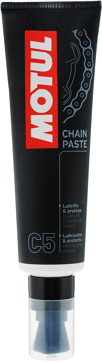 Смазка для цепей дорожных мотоциклов Motul С5 Chain Paste, 150 мл
