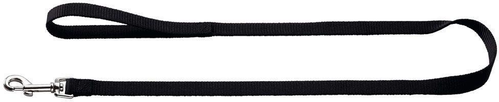 Поводок для собак Hunter Smart Ecco, цвет: черный, длина 110 см12171996Нейлоновый поводок для собак Hunter Smart Ecco удобен и практичен. Порадует как своего владельца, так и его хозяина. Длина 110 см, ширина 2 см.