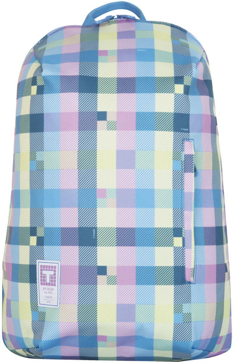 Tiger Enterprise Рюкзак детский Клетка72523WDСамые трендовые цвета сезона сочетаются в дизайне этого рюкзака с элегантным рисунком. Незаменимый аксессуар для тех, кто создает свой стиль и идет на шаг впереди моды.