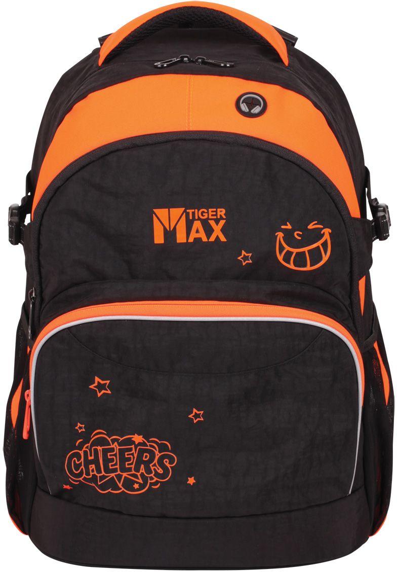 Tiger Enterprise Рюкзак городской цвет черный оранжевый72523WDДля этого рюкзака мы взяли самые качественные и долговечные материалы, лучшие эргономичные решения и передовые технологии. Результат - современный рюкзак для учебы, путешествий и активного отдыха, созданный с учетом всех потребностей подростка.