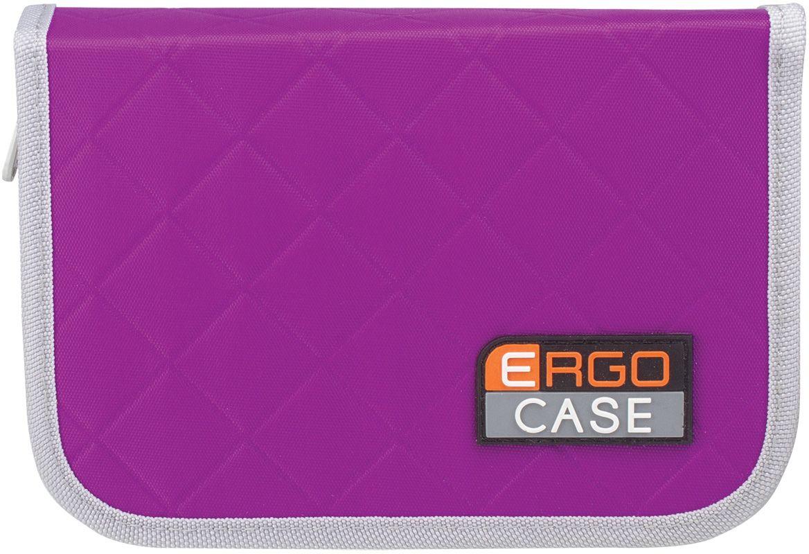 Tiger Enterprise Пенал цвет фиолетовый72523WDДве откидные планки внутри пенала позволяют легко доставать и складывать обратно все необходимые принадлежности. Стильная однотонная расцветка и лаконичный дизайн подойдут школьникам любого возраста.