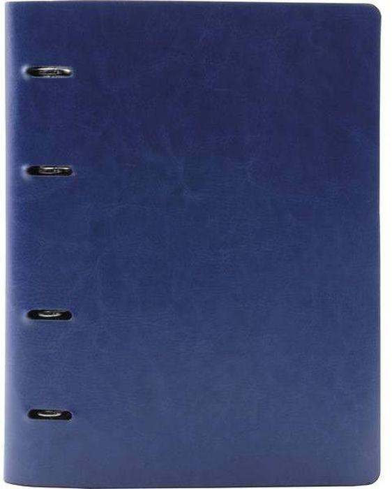 Index Тетрадь 160 листов в клетку цвет синий формат A41050993Тетрадь Index со сменным внутренним блоком формата A4 отлично подойдет для различных записей.Обложка, выполненная из искусственной кожи, позволит сохранить тетрадь в аккуратном состоянии на протяжении всего времени использования. Внутренний блок состоит из 160 листов в клетку.