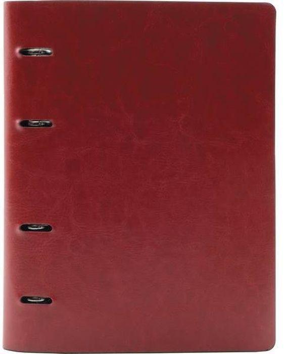 Index Тетрадь 160 листов в клетку цвет красный формат A472523WDТетрадь со сменным внутренним блоком. Обложка - искусственная кожа. Внутренний блок - офсет плотностью 70 г/м2. Запасной блок - 80 листов. Клетка. 160 листов. Формат А4. Цвет - красный.