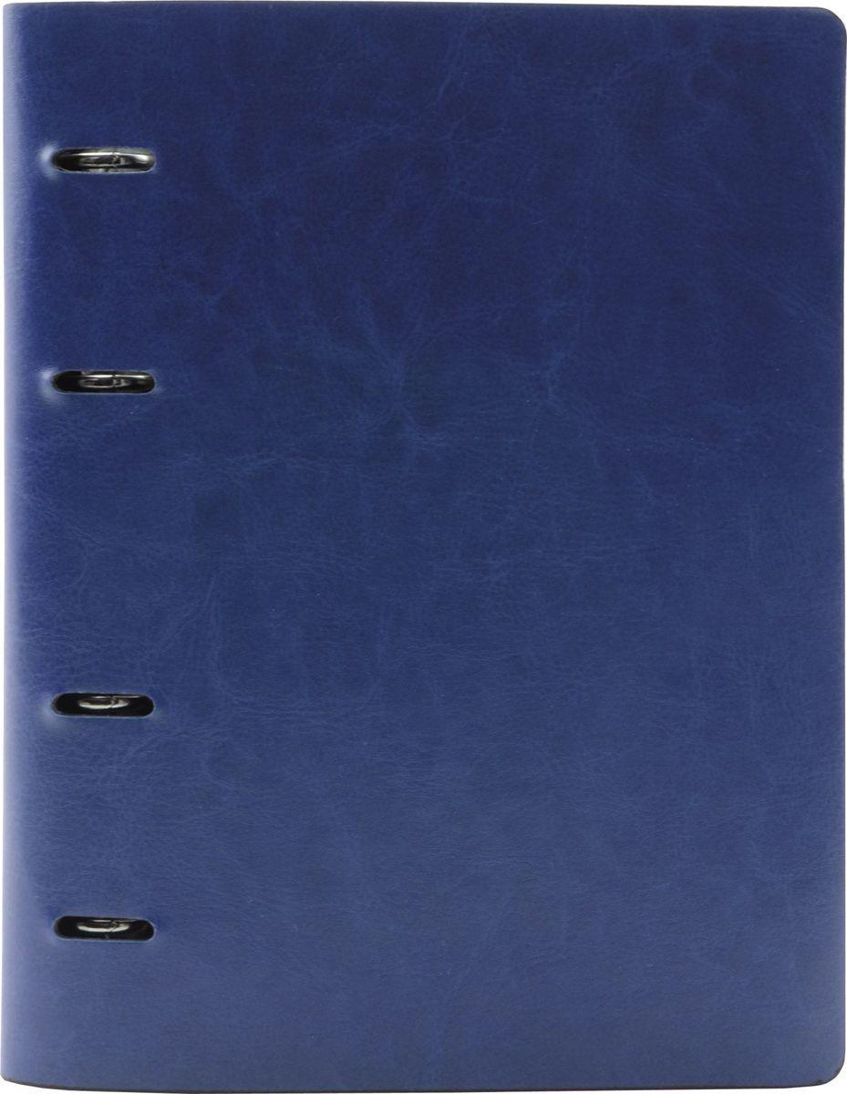 Index Тетрадь 160 листов в клетку цвет синий формат A5679443Тетрадь Index со сменным внутренним блоком формата A5 отлично подойдет для различных записей.Обложка, выполненная из искусственной кожи, позволит сохранить тетрадь в аккуратном состоянии на протяжении всего времени использования. Внутренний блок состоит из 160 листов в клетку.