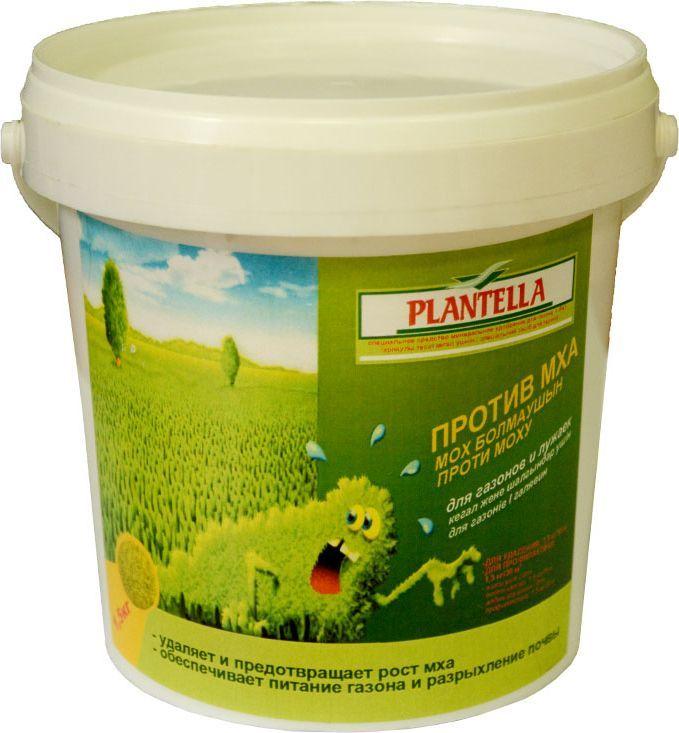 Средство Plantella, для удаления и профилактики появления мха на газоне, 1,5 кг790009Средство для удаления и профилактики появления мха на газоне 1,5 кг