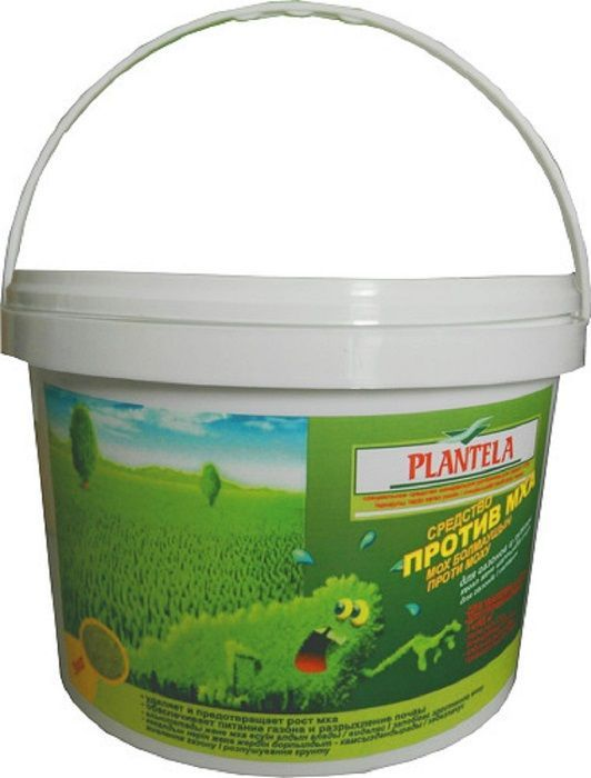 Средство Plantella, для удаления и профилактики появления мха на газоне, 3 кгGC204/30Средство для удаления и профилактики появления мха на газоне 3 кг