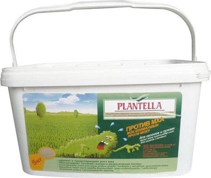 Средство  Plantella , для удаления и профилактики появления мха на газоне, 5 кг - Грунт и удобрения