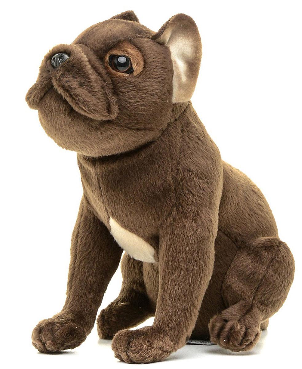 Hansa Мягкая игрушка Щенок французского бульдога 20 см щенок французского бульдога в омске