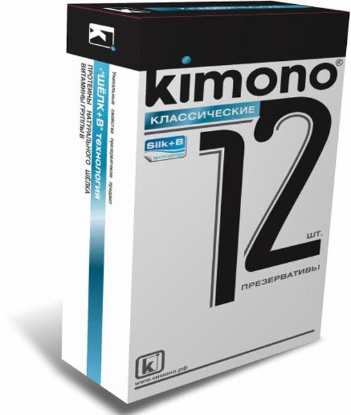 Kimono презервативы классические, 12 штCWB10KIMONO Классические нежные и гармоничные. Гладкие презервативы в силиконовой смазке с накопителем. Произведены из отборного латекса, при изготовлении использованы самые современные технологии производства и контроля качества на всех этапах. Каждый презерватив проверен электроникой. Только для одноразового использования. Презервативы KIMONO при правильном использовании, обеспечивают надёжную защиту от нежелательной беременности и заболеваний передающихся половым путём в том числе и ВИЧ. Ни одно средство предохранения не гарантирует 100% защиты. Перед использованием необходимо ознакомится с инструкцией внутри упаковки. Фасовка презервативов KIMONO № 12 Классические: в одном блоке (шоу-боксе) 12 упаковок, в каждой упаковке 12 презервативов.