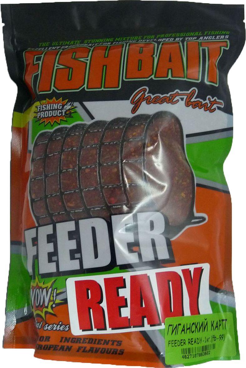 Прикормка для рыб FishBait Feeder Ready Гигантский Карп, летняя, 1 кгfbu-41035Прикормка для рыб FishBait из самых высококачественного ингредиентов. Рекомендована для опытных рыболов. Серия увлажненных, полностью готовых к применению прикормок самого высокого класса для ловли с кормушкой, с высоким содержанием вкусо-ароматических компонентов. Прикормки серии  Feeder Ready отлично работают как самостоятельно, так и в сочетании с другими смесями и добавками. Товар сертифицирован.