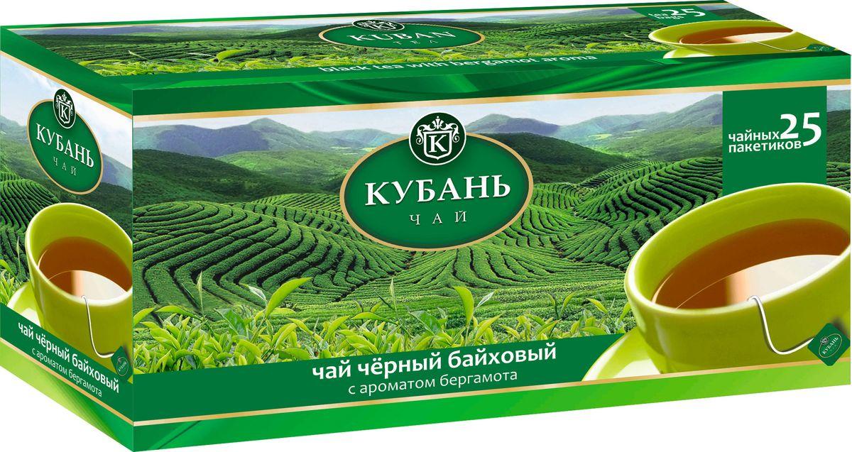 Кубань чай черный в пакетиках, 25 шт