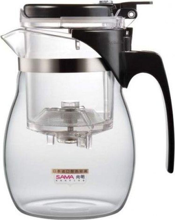 Чайник заварочный Samadoyo А-16, 600 мл54 009312Чайник заварочный (гунфу) Samadoyo А-16 - простой и в то же время профессиональный инструмент для того, чтобы заварить ваш любимый чай. Уникальный механизм слива чайного настоя позволяет вам получить напиток любой степени крепости. Такая технология заваривания чая повторяет основной смысл чайной церемонии - получить напиток максимального качества. При этом имеет два существенных преимущества - мобильность и простоту. Способ применения: засыпьте ваш любимый чай в колбу и залейте горячую воду. Для слива чайного настоя из колбы в чайник просто нажмите кнопку.Чайник можно не только комфортно использовать на работе или в офисе, но и взять с собой в путешествие, чтобы ваш любимый чай был всегда с вами! Чайник выполнен из высококачественного боросиликатного стекла и выдерживает температуры до 180 С. Заварочная колба выполнена из специального пищевого пластика, имеет металлическую сеточку-фильтр, предотвращающую попадание чаинок в настой, а специальный запатентованный клапан сливает все без остатка в чайник. Несколько преимуществ именно этого чайника: - Заваренный чай не находится долго в горячей воде, а значит, сохраняет свои свойства.- Кнопка слива позволяет получить напитоклюбой степени крепости.- Чайный настой всегда однородный и всегда вкусный.- В таком чайнике хороший чай заваривается до 15 раз.- Чайник легко моется и долго остается исключительно чистым.- Чайник очень легкий - его можно брать в поездки.Объем чайника: 600 мл.Объем колбы: 150 мл.Диаметр чайника по верхнему краю: 7,5 см.Диаметр дна чайника: 7 см.Высота чайника: 15 см.Размер колбы: 7,5 х 7,5 х 10,5 см.
