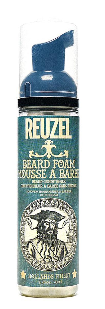 Reuzel пена для бороды 70мл5010777139655Несмываемый кондиционер для ухода за бородой.