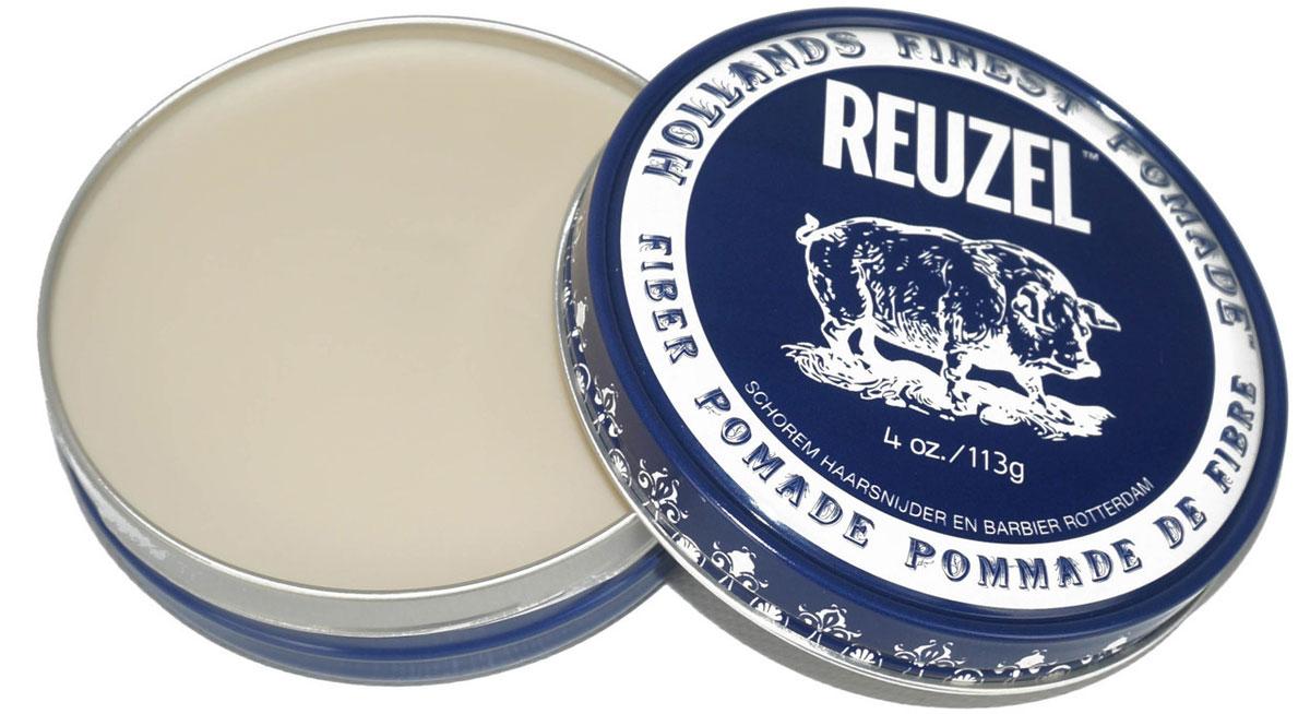 Reuzel паста для укладки волос, темно-синяя банка 113 гр1970451Fiber Pomade – это помада в темно-синей банке на водной основе. Создает текстурированную укладку, которая долго продержится, но при этом является подвижной. Низкая степень блеска и средняя фиксация. Помада лучше всего работает на коротких волосах, также отлично походит для плотных волос средней длины. Fiber Pomade поможет создать стиль легкой небрежности, будто вы только встали с кровати, но уже готовы покорять этот мир.