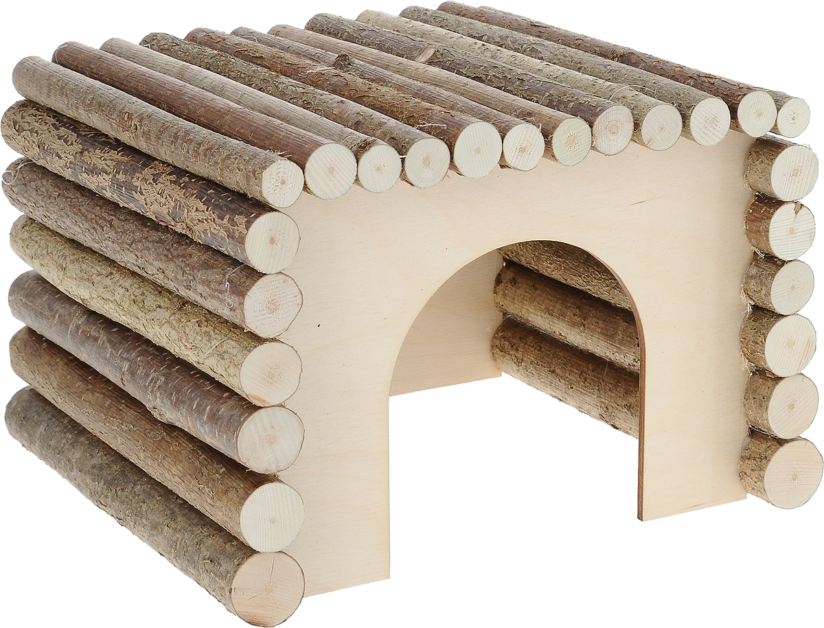 Домик для грызуна Zoobaloo КвадроДом, 23 х 20 х 17 см0120710Zoobaloo КвадроДом - это оригинальный домик для грызунов из орешника. Благодаря технологии производства без гвоздя и использовании съедобного клея, ваш любимец может не только жить в этом домике, но и грызть его, и все это абсолютно безопасно. Благодаря прямоугольной форме крыши из веток орешника, домик успешно может быть использован в качестве спортивного снаряда для поддержания формы вашего питомца. По нему можно бегать и лазить.