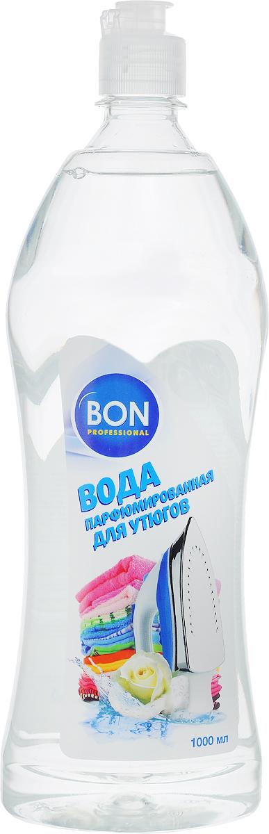 Вода для утюгов Bon, парфюмированная, 1 л4600296000676Парфюмированная вода Bon предназначена для использования в паровых утюгах. Позволяет идеально отгладить даже сильно пересушенное белье и придает ему нежный аромат. Не оставляет пятен на ткани. Парфюмированная вода Bon предотвращает образование накипи на нагревательных элементах утюга, продлевая срок его службы. Характеристики:Объем: 1 л. Изготовитель:Россия. Артикул: BN-024.Товар сертифицирован.