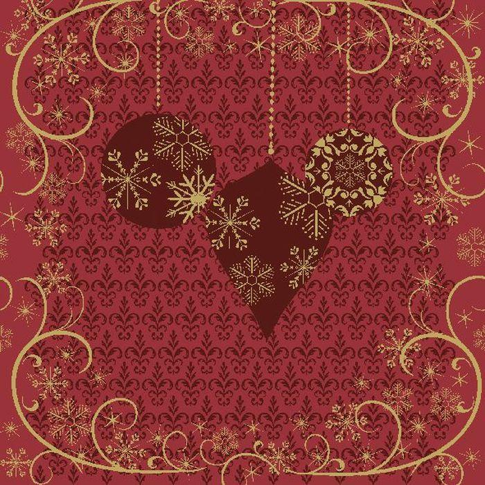 Салфетки бумажные Duni, 3-слойные, цвет: красный, 33 х 33 см531-401Трехслойные бумажные салфетки изготовлены из экологически чистого, высококачественного сырья - 100% целлюлозы. Салфетки выполнены в оригинальном и современном стиле, прекрасно сочетаются с любым интерьером и всегда будут прекрасным и незаменимым украшением стола.