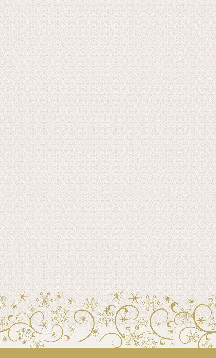 Скатерть одноразовая Dunicel Ornate Xmas Cream, цвет: светло-бежевый, 138 х 220 смVT-1520(SR)Скатерть бумажная одноразовая DUNI выполнена из высокачественной бумаги, оформлена оригинальным узором.Бумажная скатерть будет незаменимым аксессуаром при оформлении праздников, организации пикников на природе, детских мероприятиях.