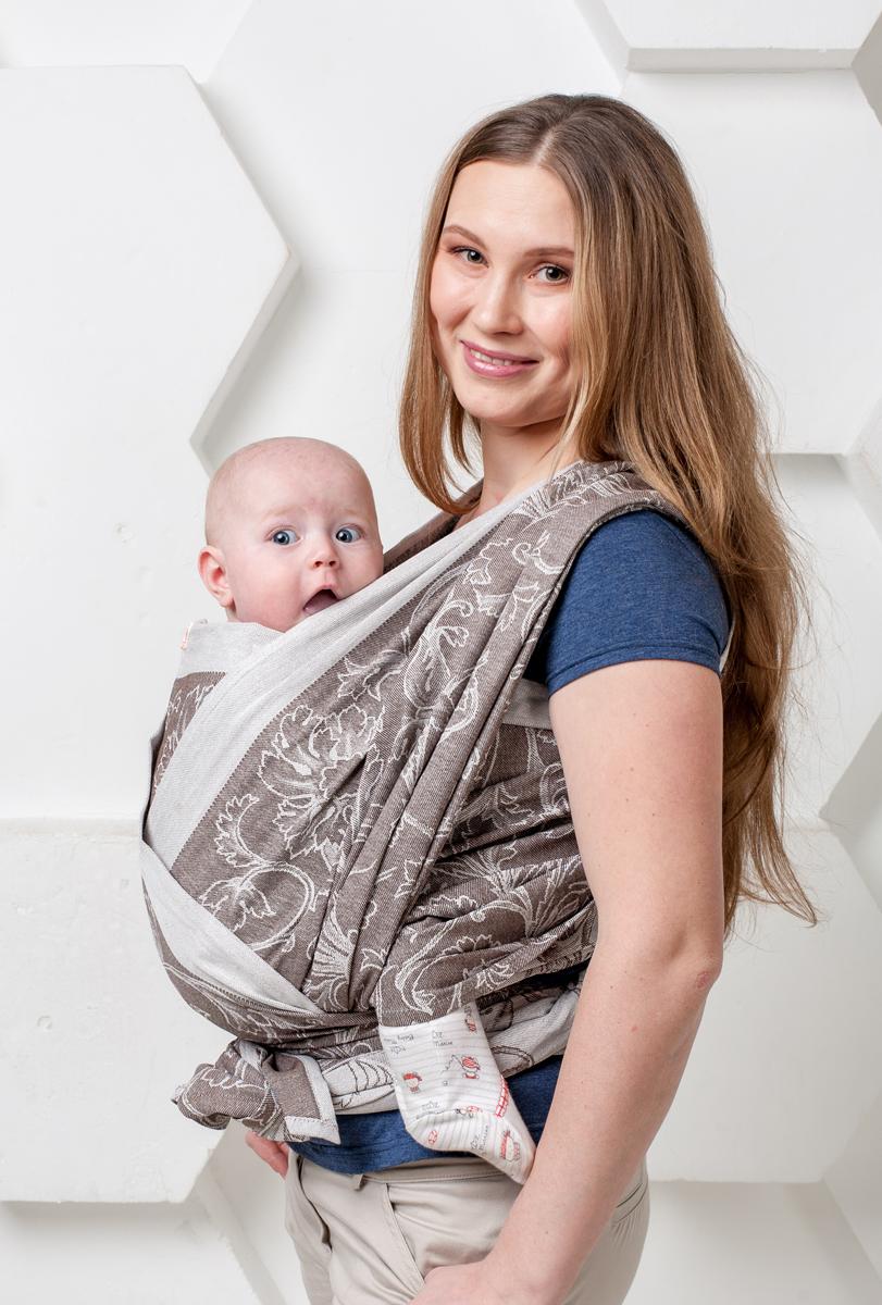 Мамарада Слинг-шарф Капучино размер 48-52 - Рюкзаки, слинги, кенгуру