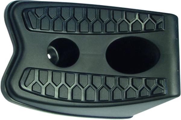 Башмак противооткатный Matrix, 2 штK100Противооткатный упор (башмак) Matrix, выполненный из прочного пластика, является упором для колес легковых автомобилей, предотвращающим самопроизвольный откат при поднятии домкратом. Помимо этого, башмак, закрепленный на полу парковочного места через специальные отверстия в корпусе, может использоваться как ограничители заезда. В комплекте: 2 шт.