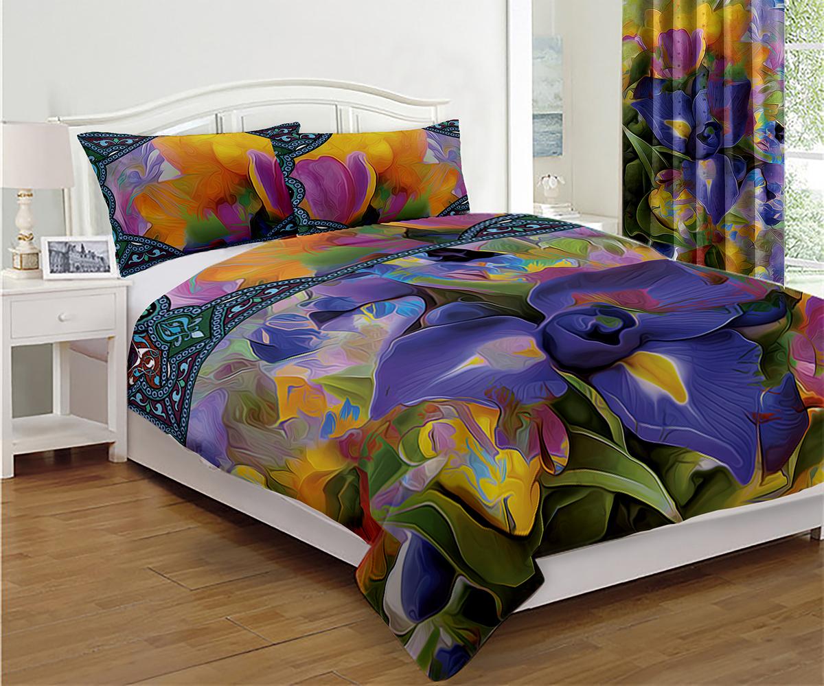 Покрывало МарТекс Фэнтези, 200 х 220 см960063Покрывало МарТекс станет изысканным дополнением интерьера спальни. Яркое покрывало изготовлено из качественного полиэстера.Покрывало не только согреет, но и создаст неповторимый уют в вашей спальне. Мягкий, теплый, приятный на ощупь материал делает покрывало хорошей заменой пледу.