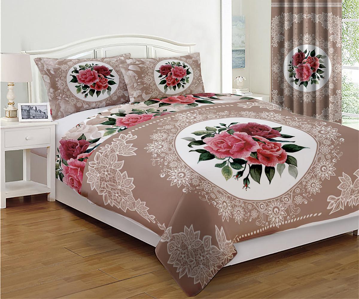 Покрывало МарТекс Романтик, 200 х 220 см960046Покрывало МарТекс станет изысканным дополнением интерьера спальни. Яркое покрывало изготовлено из качественного полиэстера.Покрывало не только согреет, но и создаст неповторимый уют в вашей спальне. Мягкий, теплый, приятный на ощупь материал делает покрывало хорошей заменой пледу.