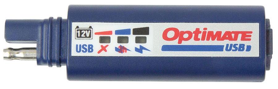Универсальное зарядное устройство OptiMate. O100O00000960Комбинированное USB зарядное устройство 2400 мА и 3-х светодиодный индикатор заряда аккумуляторной батареи. Защита аккумулятора транспортного средства: USB выход выключается через 3 часа после остановки двигателя или достижения состояния заряда аккумуляторной батареи менее 50%. При долгосрочном хранении показывает статус заряда АКБ каждые 5 секунд.