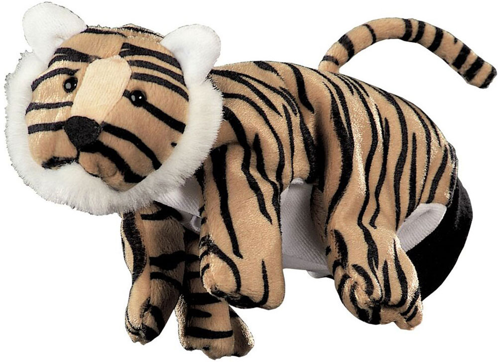 Beleduc Игрушка на руку Тигр beleduc развивающая игрушка зоопарк