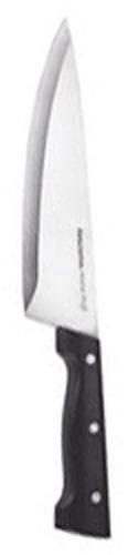 Нож Tescoma кулинарный, 20 см. 880530420140Кулинарный нож Tescoma выполнен из нержавеющей стали и пластика. Очень удобная и эргономичная ручка не позволит выскользнуть ножу из вашей руки. Лезвие заточено и сформировано для максимально эффективного использования. Нож с длинным, широким клинком и с центрированным острием позволит резать продукты без особого труда. Характеристики: Материал: сталь пластик. Длина ножа: 32 см. Длина лезвия: 20 см. Производитель: Чехия. Артикул: 880530.
