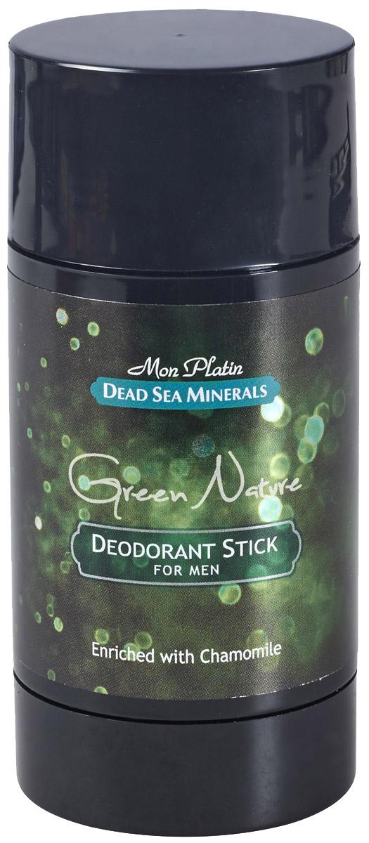 Mon Platin дезодорант для мужчин Dead Sea Minerals Green Nature, 80 млSatin Hair 7 BR730MNДезодорант для мужчин действует длительное время, предотвращает выделение пота, придает коже ощущение бодрости и свежести, обладает нежным и приятным запахом, не оставляет пятен, удобен в использовании.