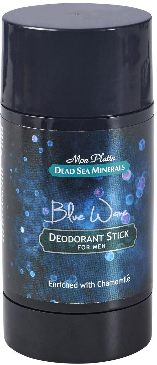 Mon Platin дезодорант для мужчин Dead Sea Minerals Blue Wave, 80 мл8000312952Дезодорант для мужчин действует длительное время, предотвращает выделение пота, придает коже ощущение бодрости и свежести, обладает нежным и приятным запахом, не оставляет пятен, удобен в использовании.